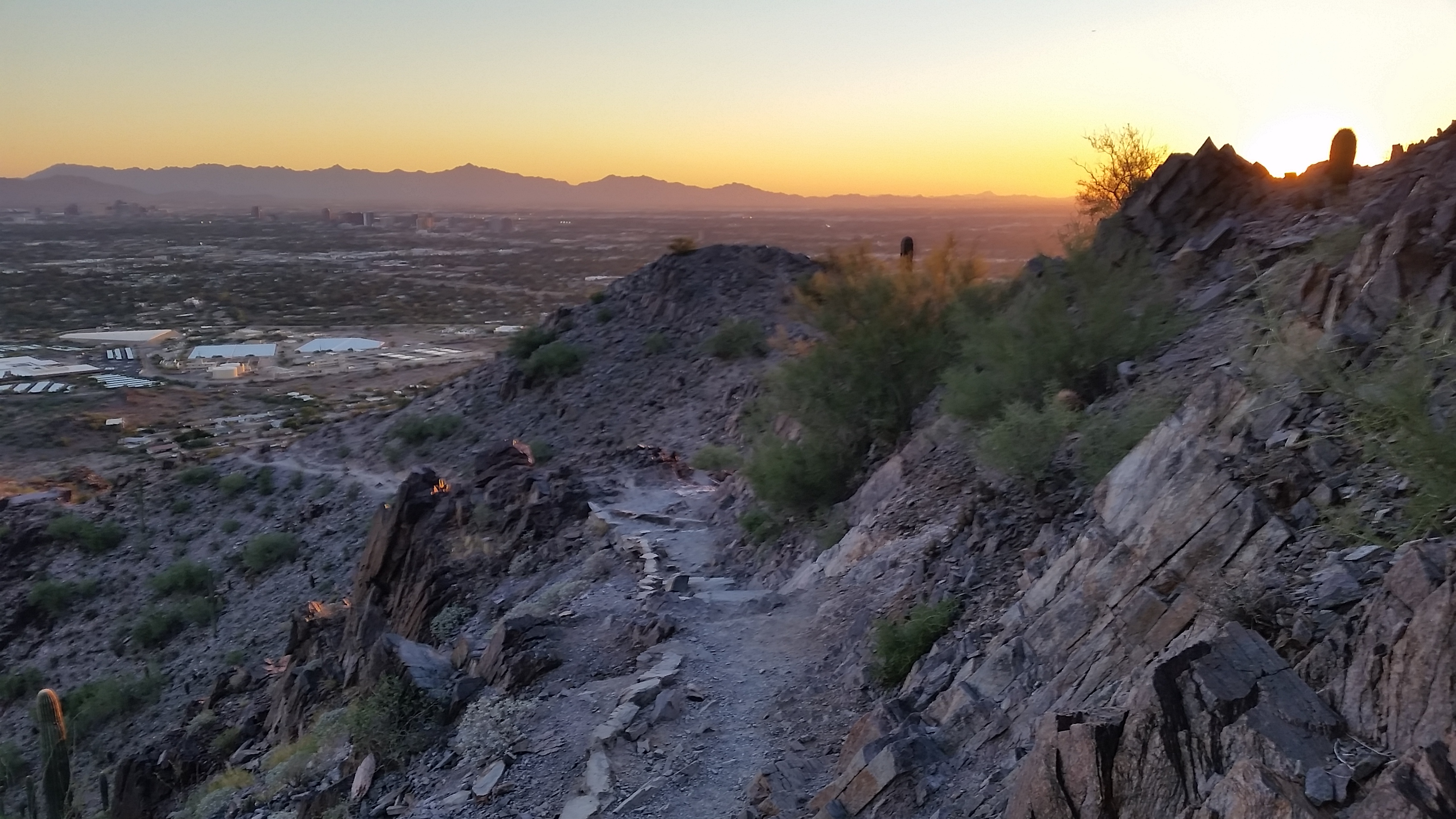 Squaw Piestewa Peak Trail 300 Az 11 28 15
